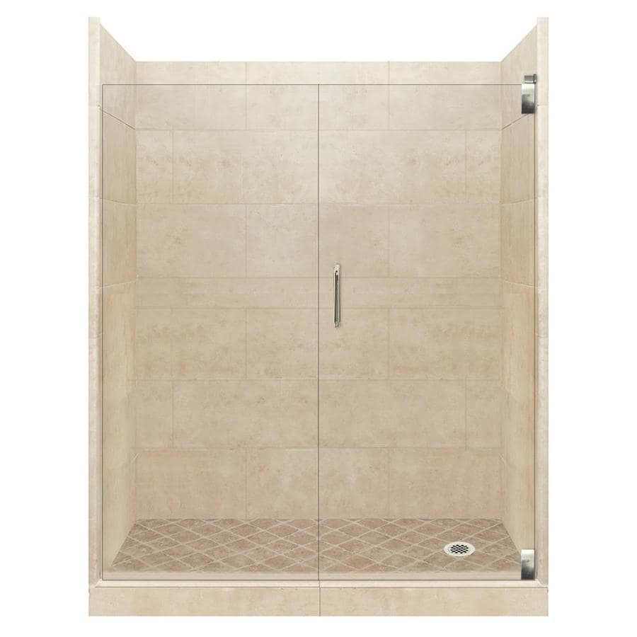 Shop American Bath Factory Sonoma Medium 12-Piece Alcove Shower ...
