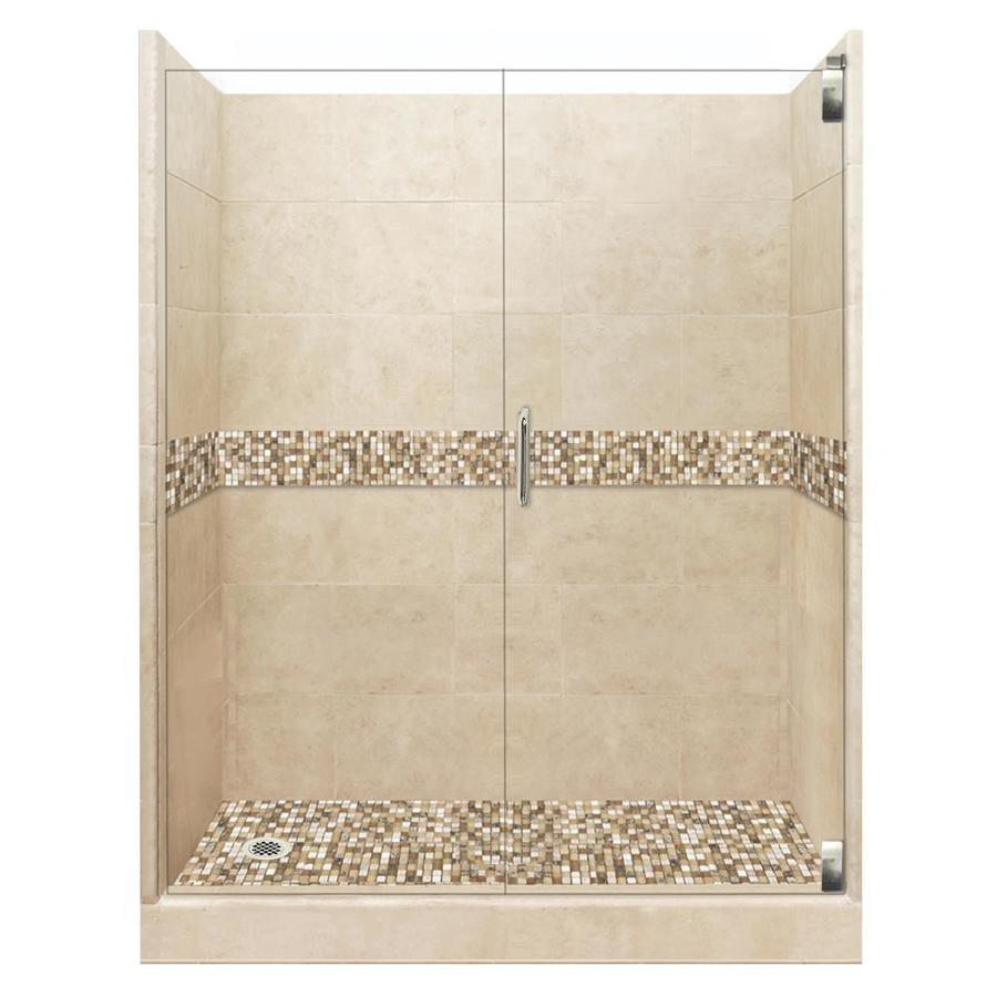 Shop American Bath Factory Mesa Solid Surface Wall Stone Composite ...