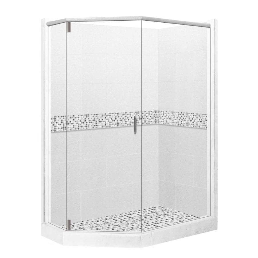 36 x 36 corner shower kit. american bath factory laguna sistine stone wall composite floor neo-angle 10-piece 36 x corner shower kit l