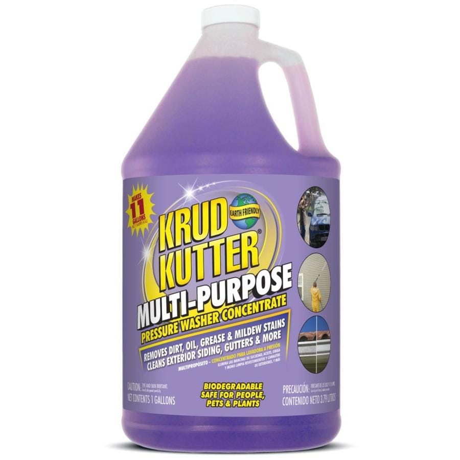 Shop krud kutter 1 gallon multi purpose pressure washer for Pressure washer cement cleaner