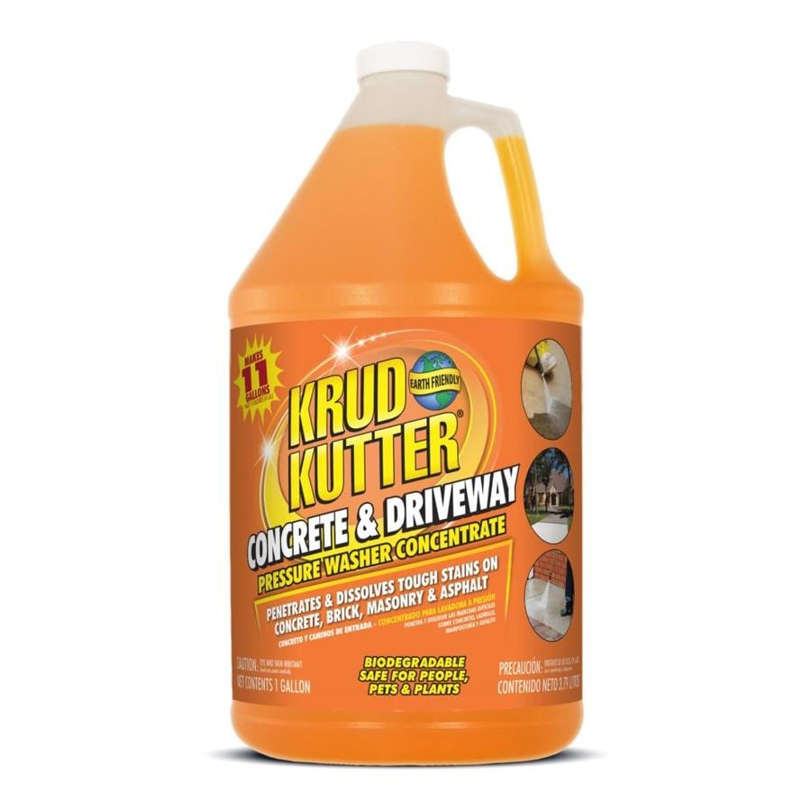 Krud Kutter 1-Gallon Concrete and Driveway Pressure Washer Concentrate