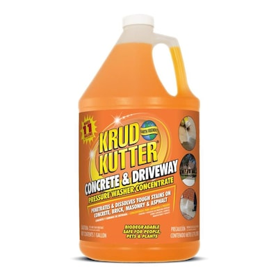 Krud Kutter 1-Gallon Driveway Pressure Washer Cleaner at