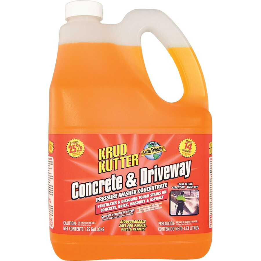 Krud Kutter 1-1/4 Gallon Concentrated Pressure Washer Driveway Cleaner