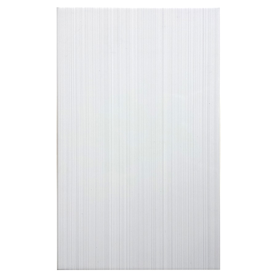 Style Selections Blairlock White Ceramic Wall Tile Common 10 In X 16