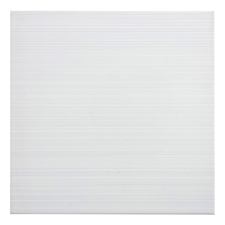 Shop Style Selections Blairlock White Ceramic Floor And Wall Tile Common 13