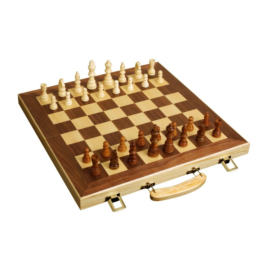 Shop Wooden Chess At Lowes Com