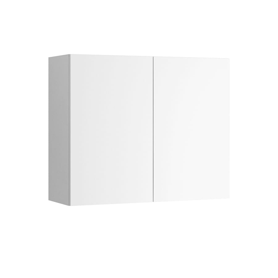 K Collection Kava 36-in W x 30.25-in H x 11.625-in D Kava Slab Door Wall Cabinet