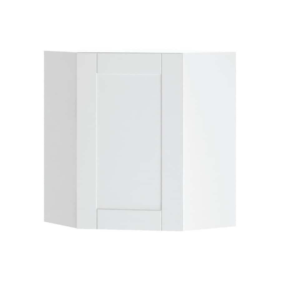 K Collection 24.25-in W x 30.25-in H x 24.25-in D Kambria Corner Wall Cabinet