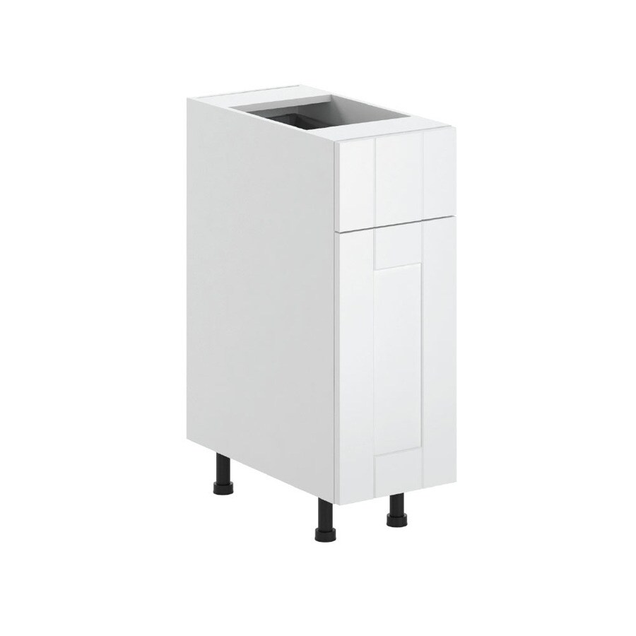 K Collection 12-in W x 34.5-in H x 23.625-in D Kambria Shaker Door and Drawer Base Cabinet