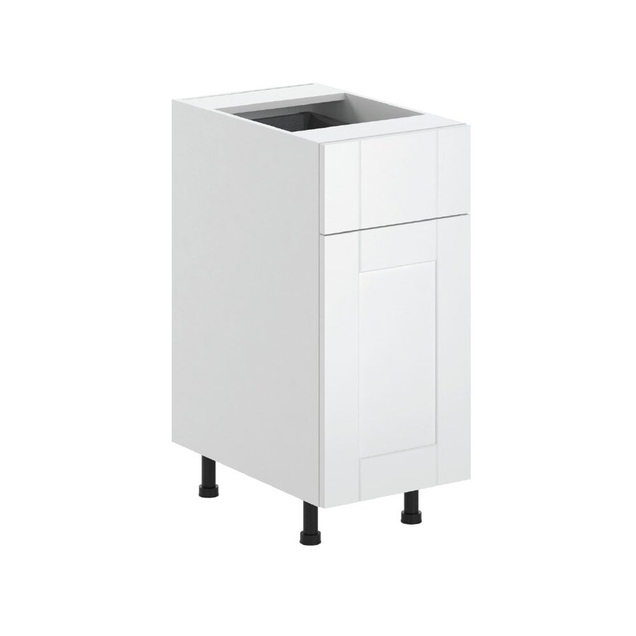 K Collection 15.125-in W x 34.5-in H x 23.625-in D Kambria Shaker Door and Drawer Base Cabinet