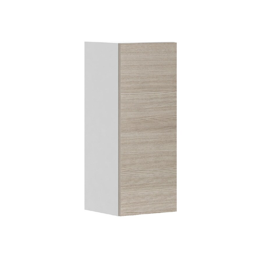 K Collection 12-in W x 30.25-in H x 11.625-in D Kaden Slab Door Wall Cabinet