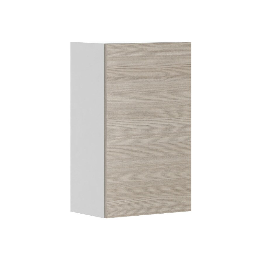 K Collection 17.9375-in W x 30.25-in H x 11.625-in D Kaden Slab Door Wall Cabinet
