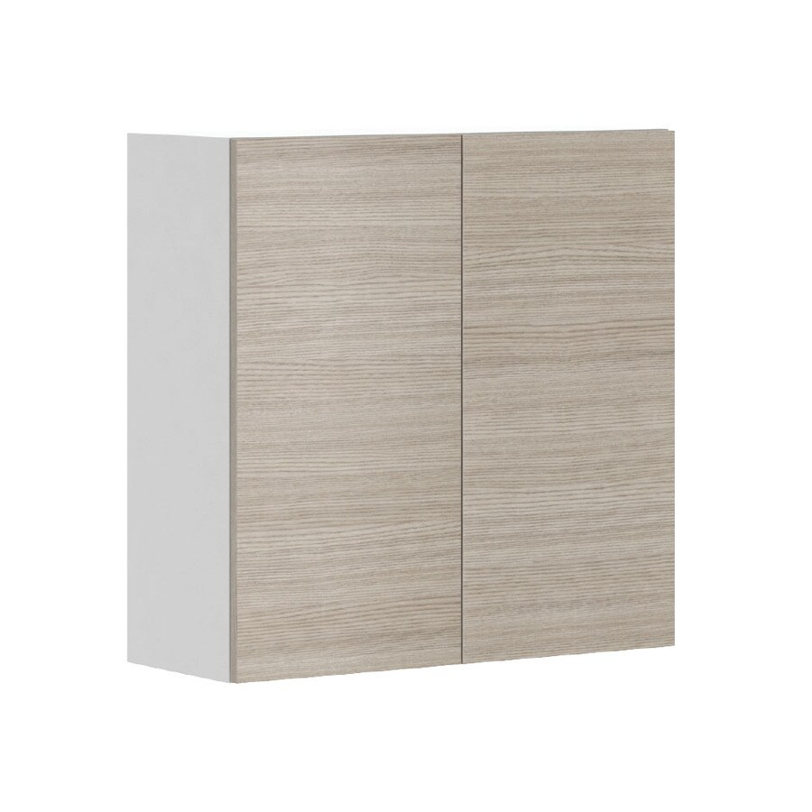 K Collection Kaden 30.25-in W x 30.25-in H x 11.625-in D Kaden Slab Door Wall Cabinet