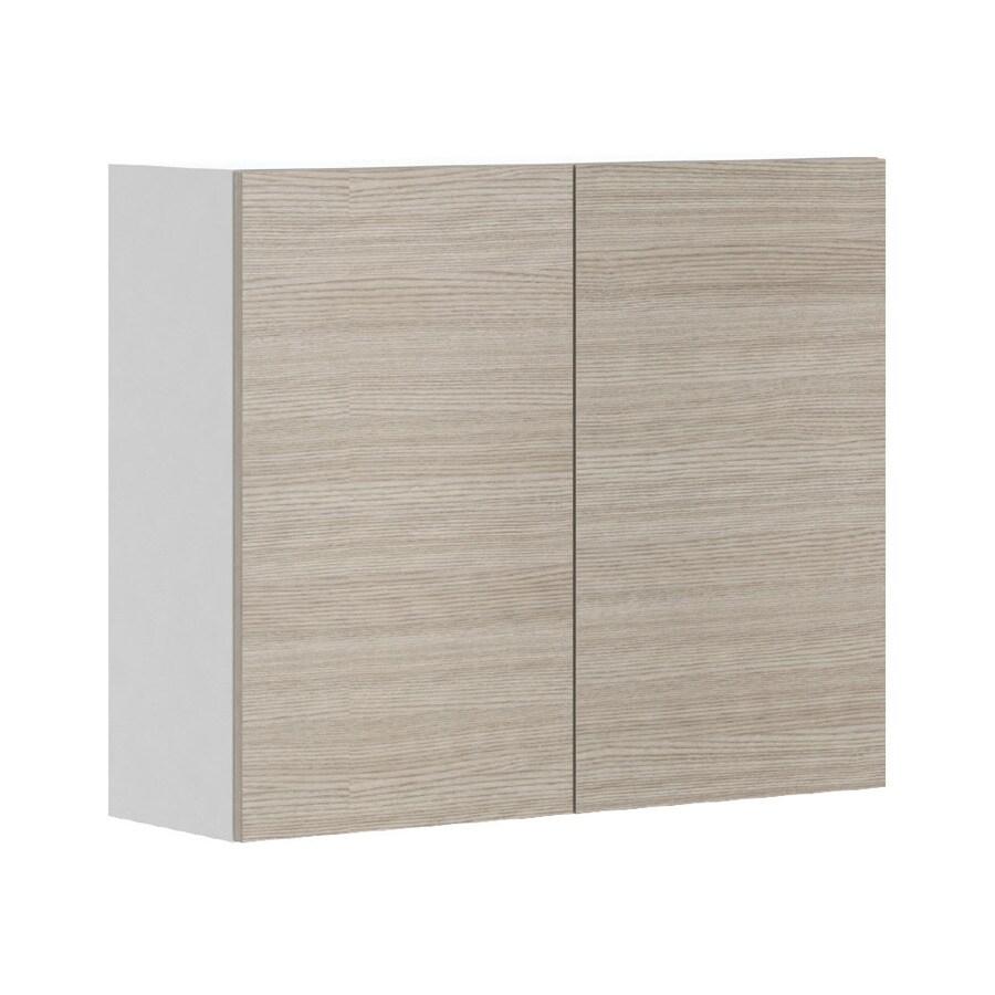 K Collection Kaden 35.875-in W x 30.25-in H x 11.625-in D Kaden Slab Door Wall Cabinet