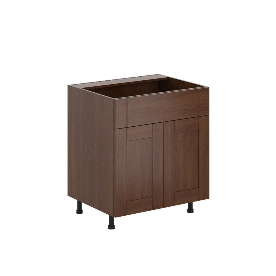 K Collection 30.25-in W x 34.5-in H x 23.625-in D Kaleo Birch Shaker Sink Base Cabinet