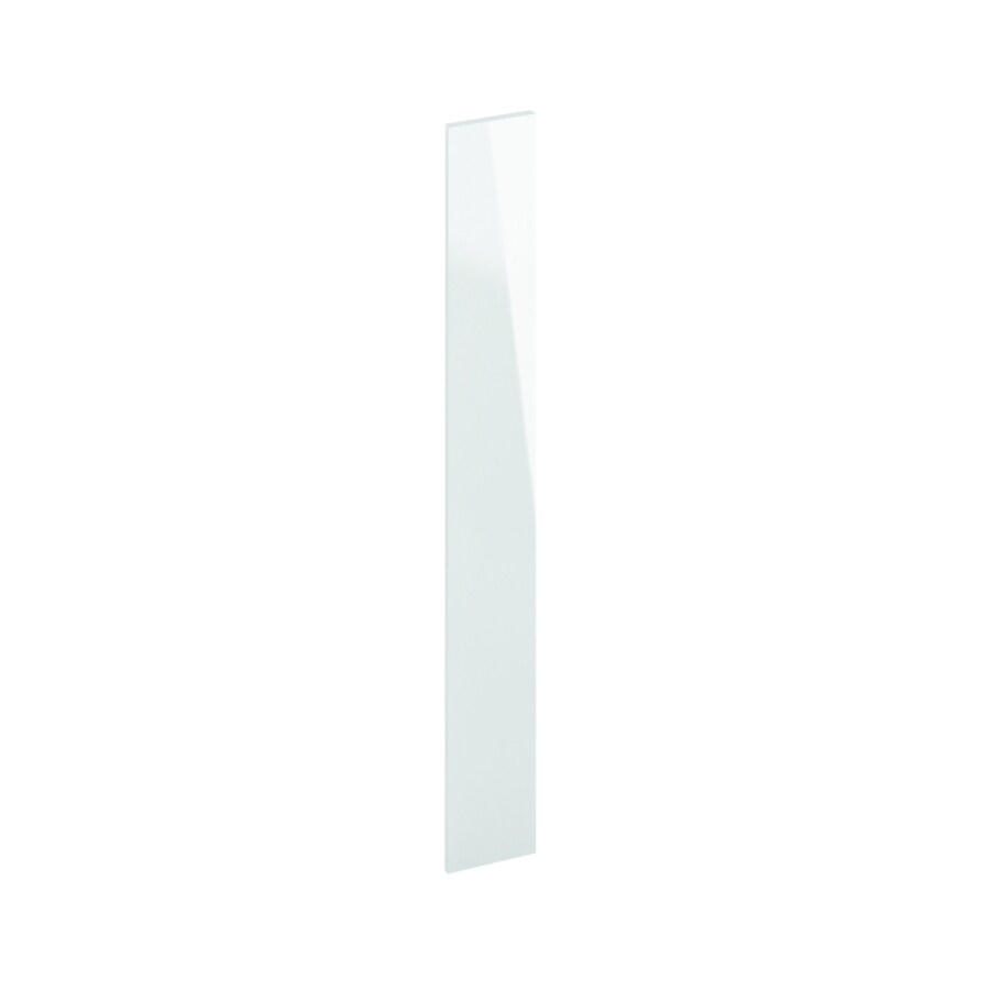K Collection 0.75-in x 3.125-in Acrylic White Cabinet End Panel