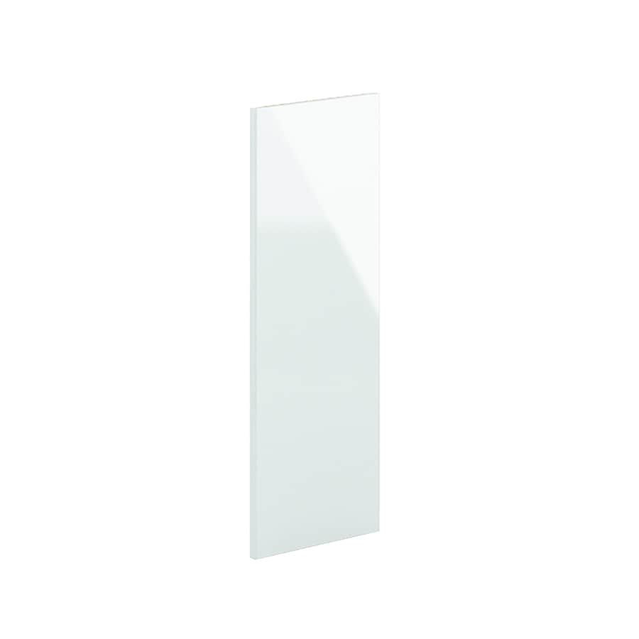 K Collection 12-in x 33-in Acrylic White Cabinet End Panel
