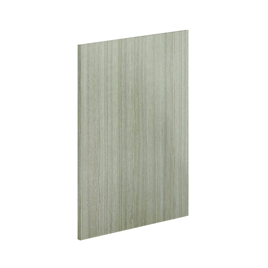 K Collection 24-in W x 30.25-in H x 0.75-in D Silver Pine Cabinet End Panel