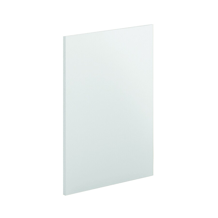 K Collection 24-in x 30.25-in White Cabinet End Panel