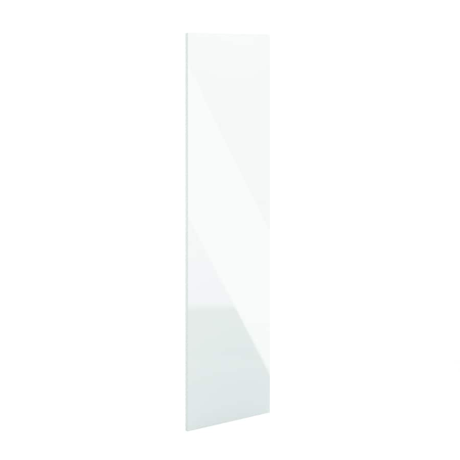K Collection 24-in W x 79.375-in H x 0.75-in D Acrylic White Cabinet End Panel