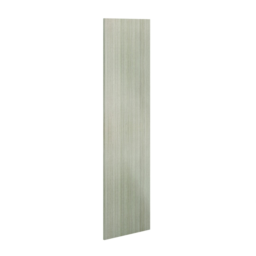 K Collection 24-in W x 79.375-in H x 0.75-in D Silver Pine Cabinet End Panel