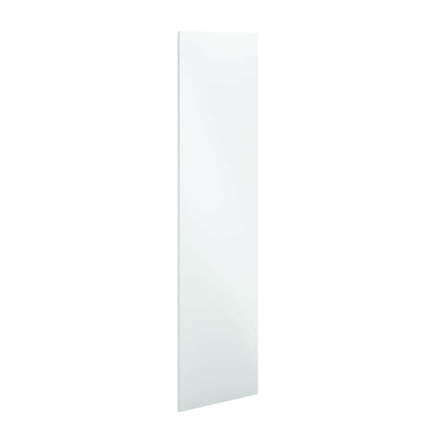 K Collection 24-in W x 79.375-in H x 0.75-in D White Cabinet End Panel