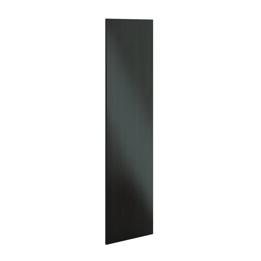 K Collection 24-in W x 79.375-in H x 0.75-in D Choco Cabinet End Panel