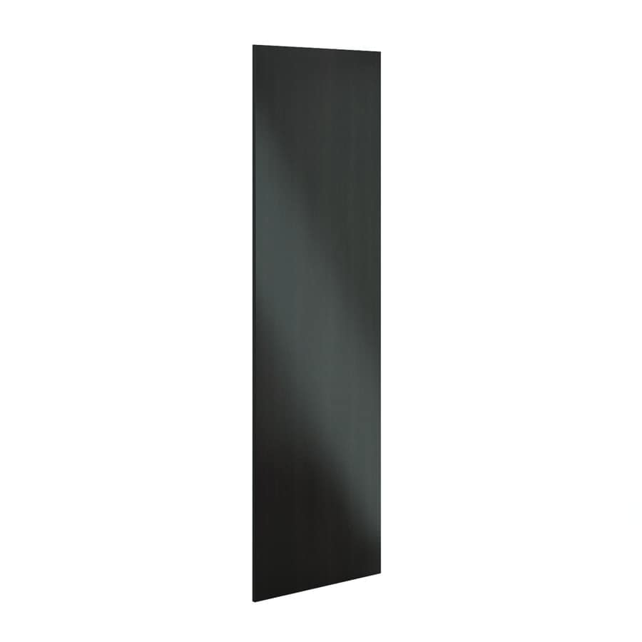 K Collection 30.25-in x 91.25-in Choco Cabinet End Panel