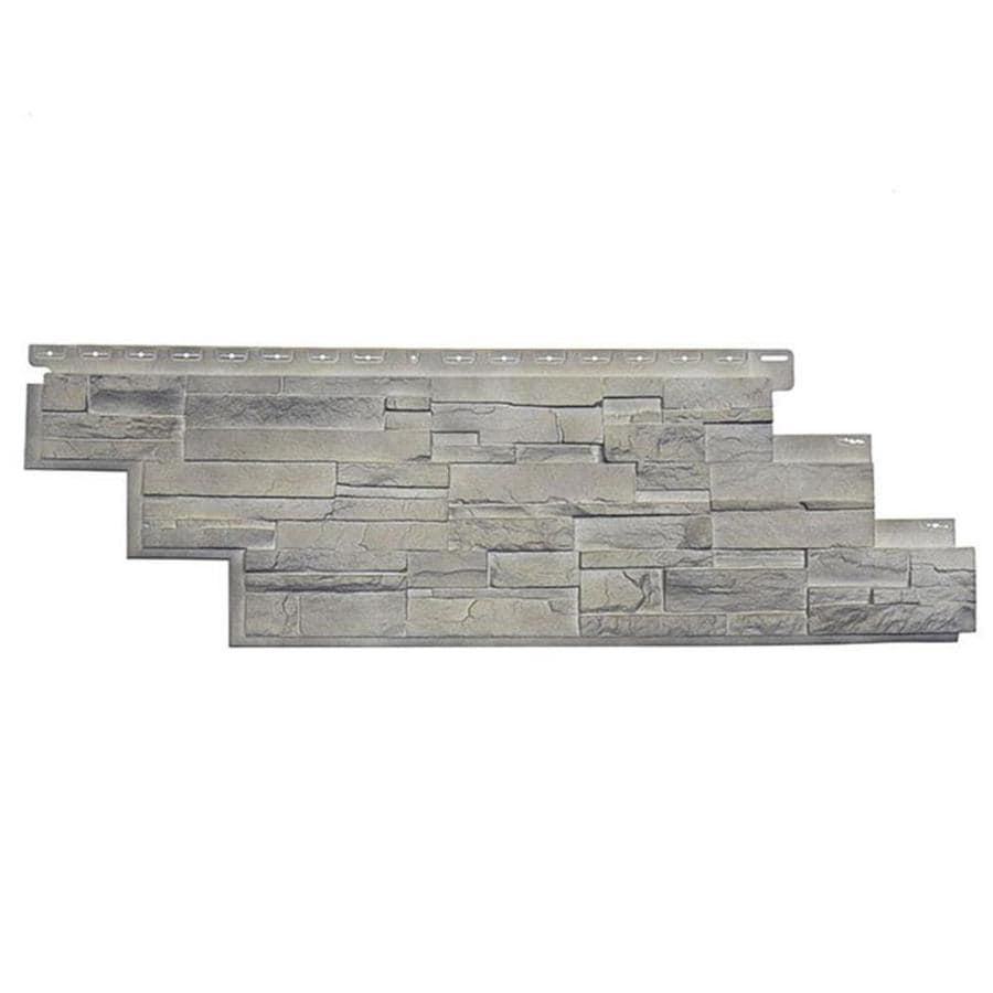 Shop Novik Dry Stack Stone Sq Ft Limestone Faux Stone Veneer At - Faux limestone tile
