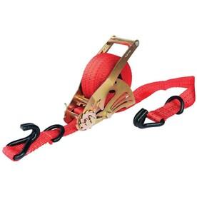 1500 lb Break Strength 500 lb Working Load Limit Stryder UX500-01A Retractable Ratchet Tie Down Straps 12 x 1