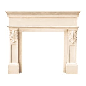 shop fireplace surrounds at lowes com rh lowes com fireplace mantel shelves lowes fireplace mantels lowes home depot