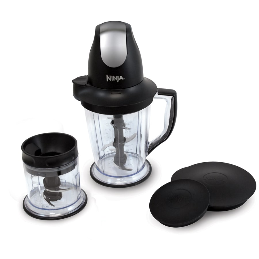 Ninja Master Prep 16-oz Black 1-Speed 450-Watt Pulse Control Blender