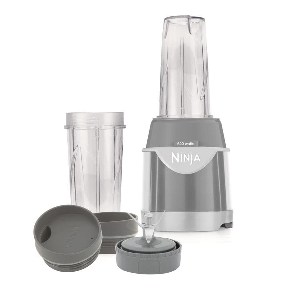 Shop Ninja Kitchen System Pulse 16-oz Gray 1-Speed 600-Watt Pulse ...