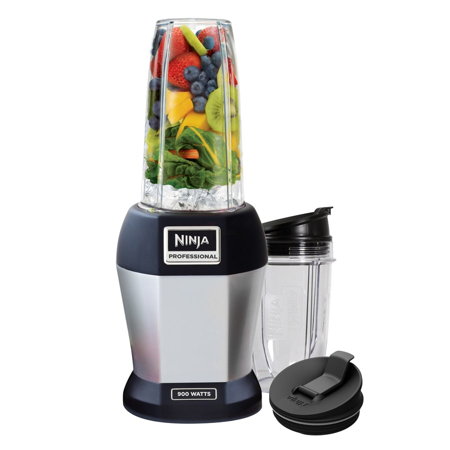 Ninja Single Serve Pro 24-oz Platinum 1-Speed 900-Watt Pulse Control Blender