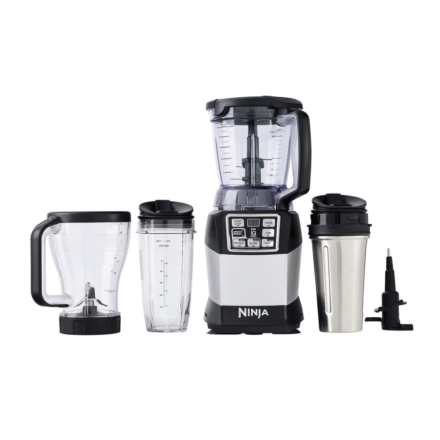 Ninja Nutri Auto-Iq 40-oz Black 6-Speed 1200-Watt Pulse Control Blender