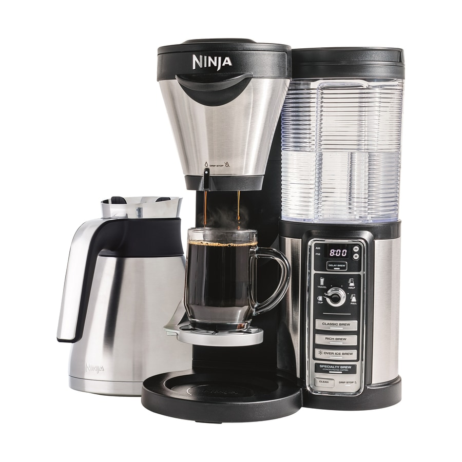 Ninja Coffee Bar 10-Cup Black Programmable Coffee Maker