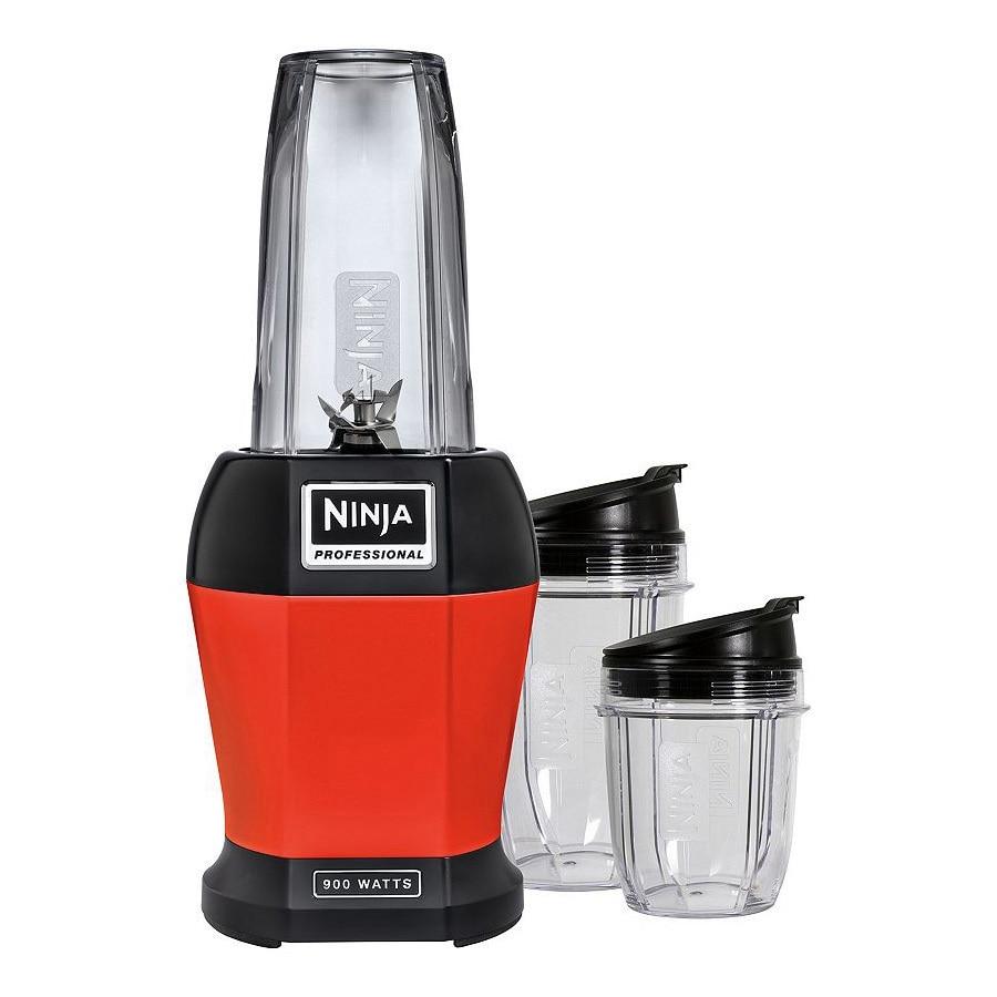 Ninja 24 oz. Red 1-Speed 900-Watt Blender