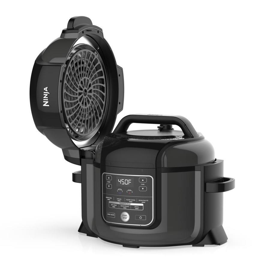 Ninja Foodi 6 5 Quart Electric Pressure Cooker In The Electric Pressure Cookers Department At Lowes Com