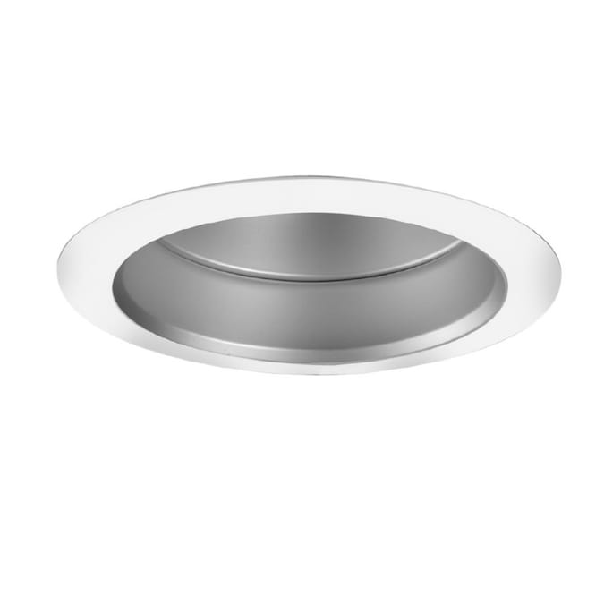 Halo Super Trim 6 In White Haze Reflector Recessed Light Trim In The Recessed Light Trim Department At Lowes Com