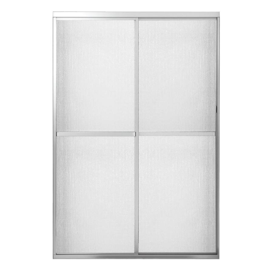 MAAX Polaris 42-in to 47-in W x 68-in H Chrome Sliding Shower Door