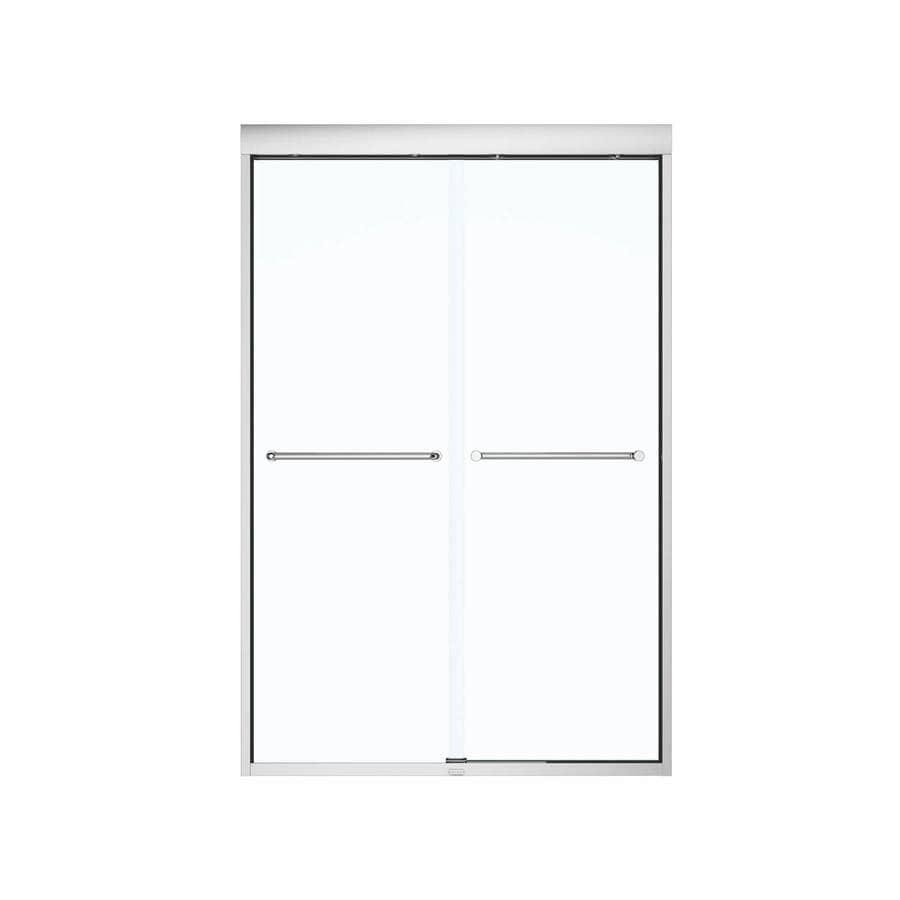 MAAX Aura 43 In To 47 In W Chrome Bypass/Sliding Shower Door