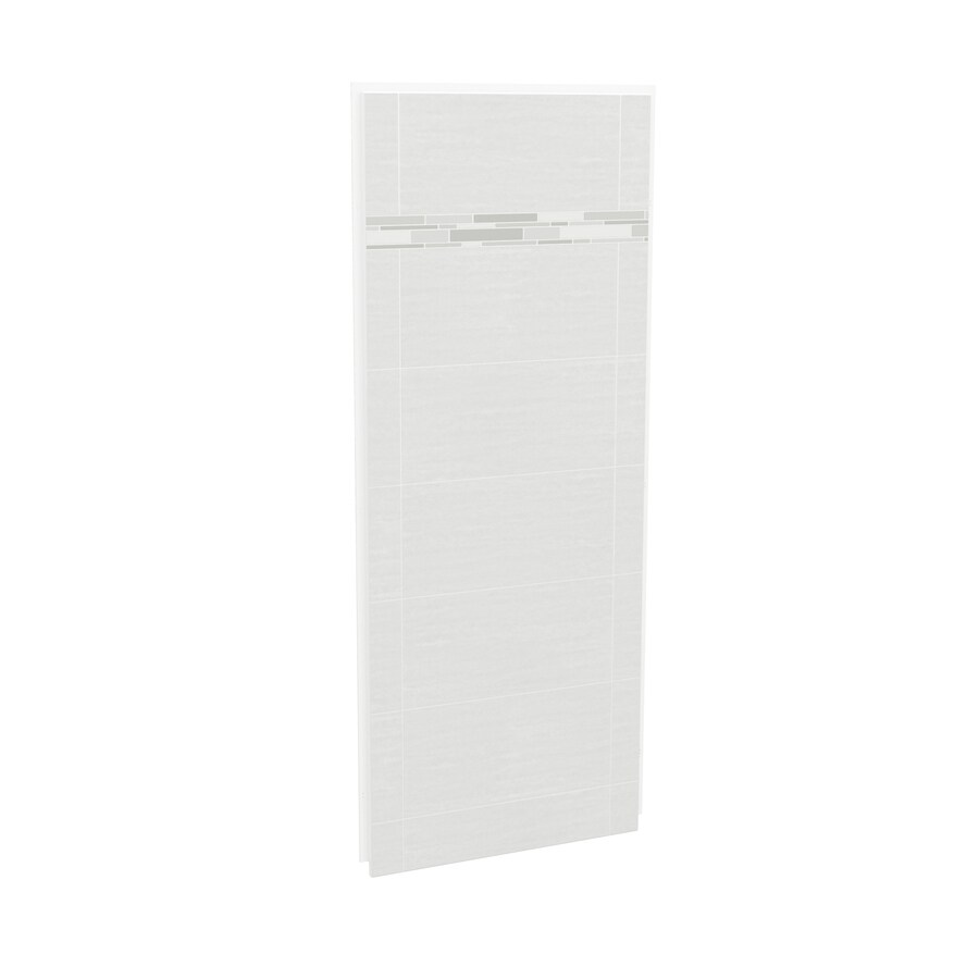 MAAX Utile Origin Arctik Shower Wall Surround Side Wall Panel (Common: 32-in x 3-in; Actual: 80-in x 32-in x 1.125-in)