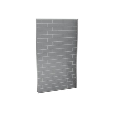 Ash Grey Shower Surround Back
