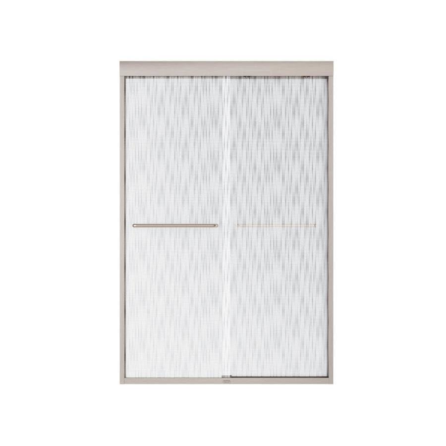 MAAX Aura 6 43-in to 47-in Frameless Shower Door