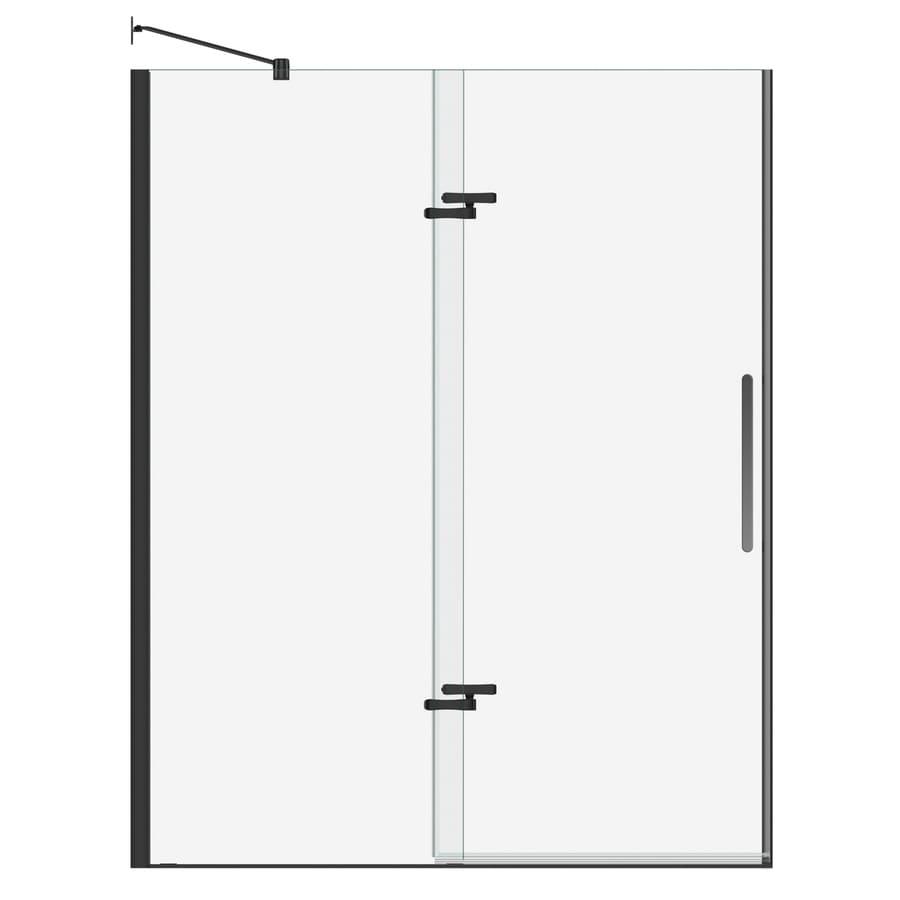 MAAX Bliss 56-in to 59-in Frameless Pivot Shower Door
