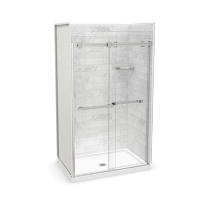 White Alcove Shower Kits At Lowes Com