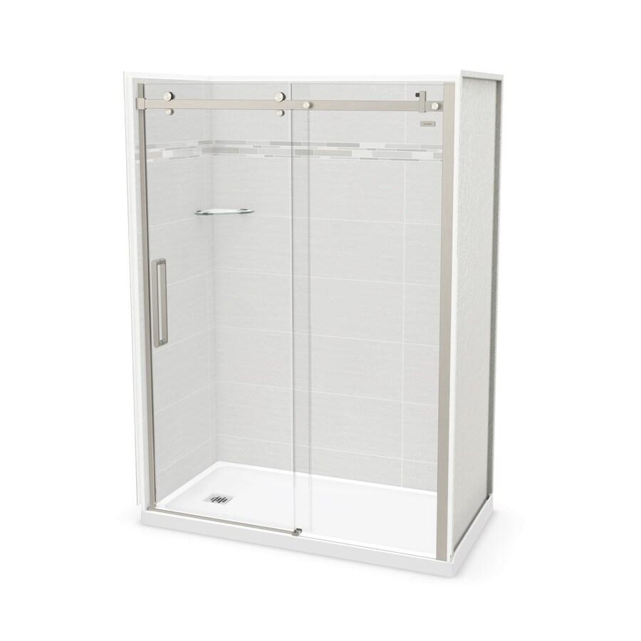 Shop MAAX Utile Origin Arctik Fiberglass/Plastic Composite Wall and ...