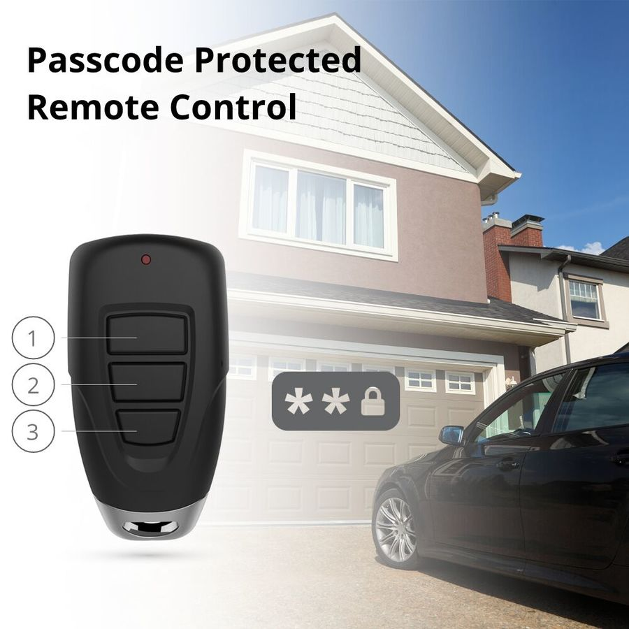 Shop skylink 3 button keychain garage door opener remote at lowes skylink 3 button keychain garage door opener remote rubansaba