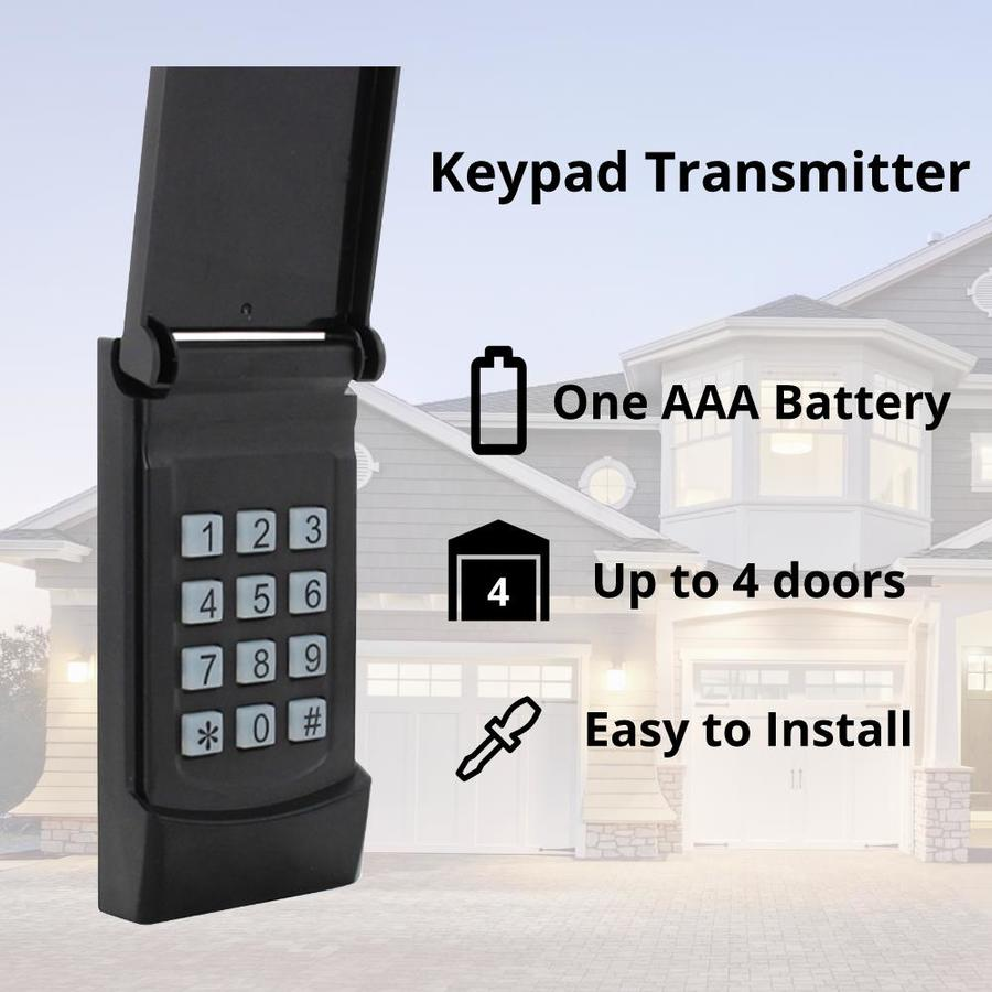 Skylink Wireless Rolling Code Garage Door Opener Keypad At