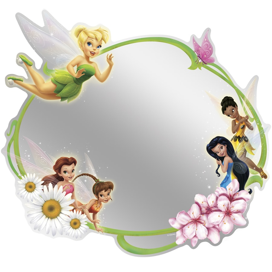Shop Disney Fairies Adhesive Mirror at Lowes.com